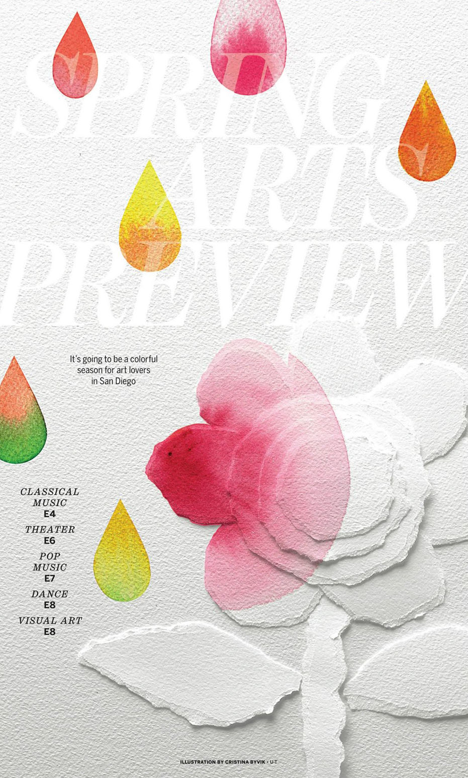 Arts preview cover