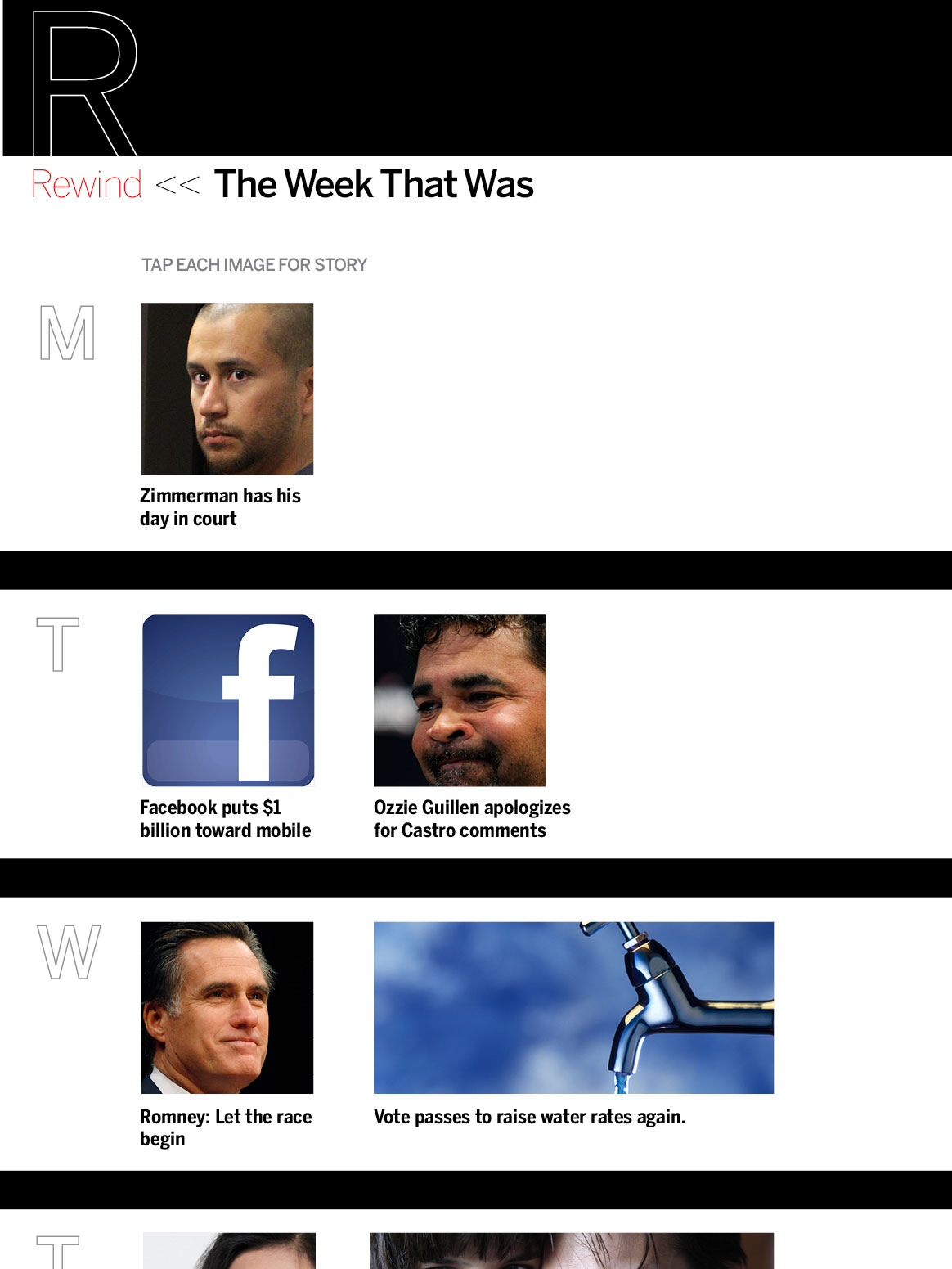 iPad Sunday week in review